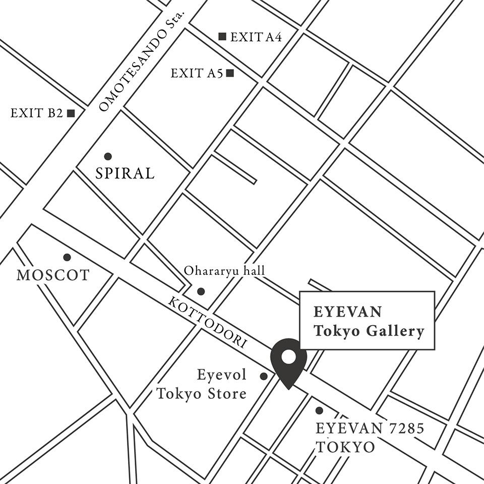 EYEVAN Tokyo Gallery